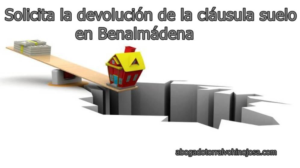 Solicita la devoluci n de la cl usula suelo en benalm dena for Acuerdo devolucion clausula suelo