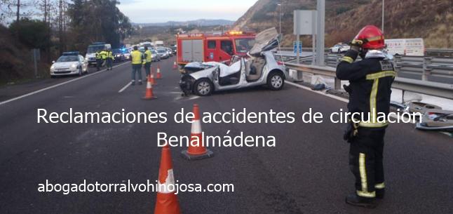 accidente trafico reclamaciones