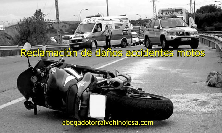 reclamacion accidentes motos